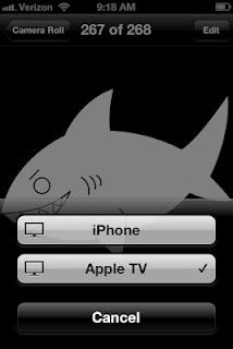 Use your apple tv/television as a projector