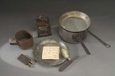 Civil War Soldier's mess kit