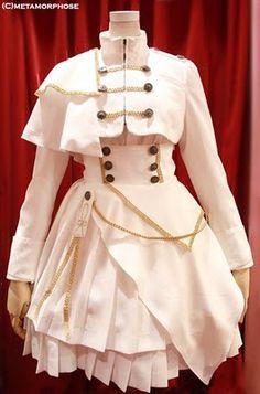 A set inspired from Macross F, designed by Metamorphose. Kawaii Fashion, Lolita Fashion, Cute Fashion, Cute Dresses, Vintage Dresses, Beautiful Dresses, Old Fashion Dresses, Fashion Outfits, Pretty Outfits
