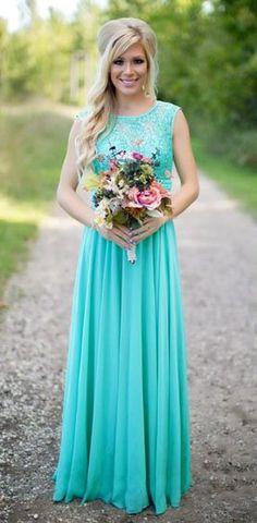 Spotted on Facebook: long blue one shoulder bridesmaids dresses ...