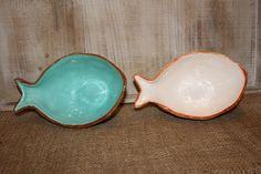 Ceramic Fish Bowl  � Turquoise