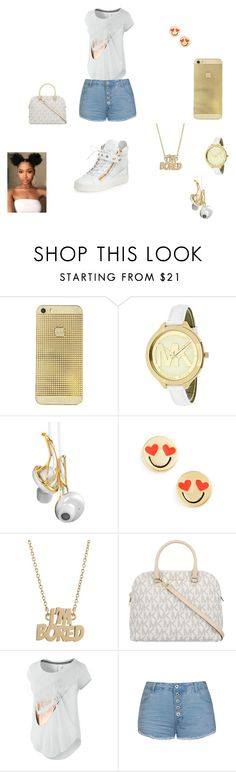 """Untitled #42"" by anquinette on Polyvore featuring beauty, Michael Kors, Frends, Kate Spade, Marc by Marc Jacobs, MICHAEL Michael Kors, NIKE, Ally Fashion and Giuseppe Zanotti"