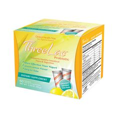 ThreeLac Probiotic Natural Lemon Flavor, 60 Ct AED471.00 #UAESupplements