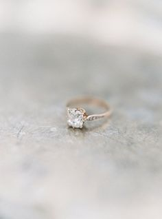 Love the simple elegance, but would rather the stone be more round or even slightly ovalish