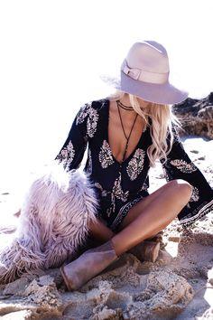 GypsyLovinLight wearing White Fox Boutique