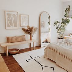 La chambre de rêve de presque rend parfait What is Decoration? Decoration is the art of decorating the inner and … Home Decor Bedroom, Home Decor Inspiration, Cheap Home Decor, Bedroom Interior, Bedroom Design, Room Inspiration, Minimalist Bedroom Decor, Dreamy Bedrooms, Room Decor