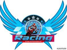 Vector: Motorcycle Racing Championship logo event