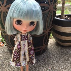 A personal favorite from my Etsy shop https://www.etsy.com/listing/246286788/blythe-romper-violets
