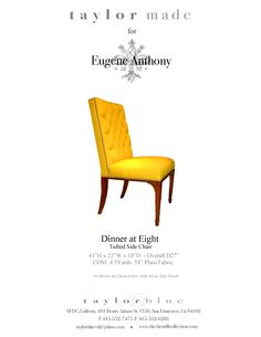 Dinner at Eight Dining Chair