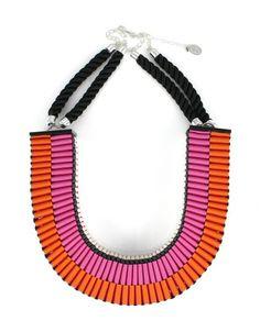 Jennifer Loiselle Clemence Necklace in Pink