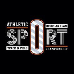 sport athletic brooklyn team tee, vintage graphic t shirt design Gfx Design, Logo Design, Shirt Print Design, Shirt Designs, Typography Drawing, Polo Shirt Outfits, Beautiful Dark Art, Brooklyn, Creative Fonts