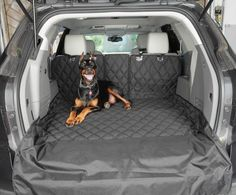 Multi-Function Split Cargo Liner SUV Split Cargo Cover / Liner for Dogs and Pets - Extra Large Black Car Seat Liner, Pet Seat Covers, Dog Car, Dog Activities, Dog Accessories, Car Seats, Puppies, Dogs, Large Black