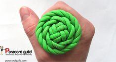Rose sennit knot tutorial.