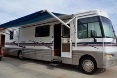 1999 Used Winnebago Chieftain 36L Class A in Arizona AZ.Recreational Vehicle, rv, 1999 Winnebago Chieftain 36L, A few months ago, I decided to become a full-timer. The open floorplan and storage space made this perfect for the lifestyle, and I added everything I needed to make it a true home on wheels. The problem? A job opportunity convinced me to move back into a house and put my RV dreams on hold. Why is this the perfect full-timing rig? - Incredibly easy to drive. Diesel engine, exhaust…
