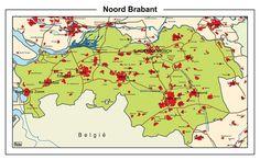 Schoolkaart Noord-Brabant