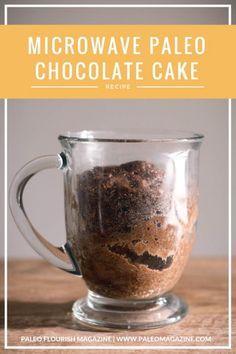 Paleo microwave chocolate cake recipe http://paleomagazine.com/paleo-microwave-chocolate-cake-recipe