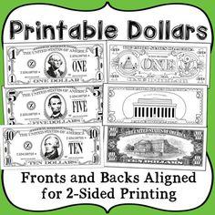 best photos of classroom money template bucks printable.html