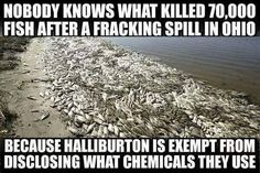 It won't be long until Republicans ensure there will be no suitable water to drink due to fracking and greed !!!