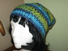 Slouchy Tam Beanie Mens or Womens Handmade by BitchinBagsbyBenita, $18.00