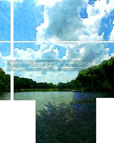 This modern landscape art is is a photo print. The landscape print is available in different sizes. Landscape art by Takumi Park $16.88 and up.