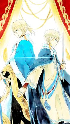 Akagami no Shirayukihime - Snow White with the Red Hair - Prince Izana and Prince Zen