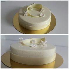Entremet vanille framboise
