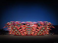 Coca-Cola Olympic Pavilion - McChesney Architects Pavilion, Coca Cola, Olympics, Architects, Projects, Inspiration, Log Projects, Biblical Inspiration, Blue Prints