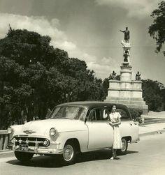 Plaza Colon,Caracas  1957
