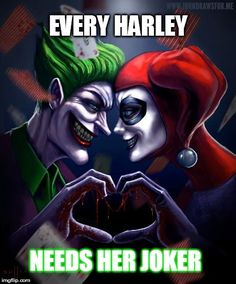joker and harley love More