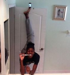 Selfie game too strong
