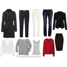 10 piece wardrobes