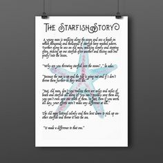 1000 ideas about starfish story on pinterest making a difference