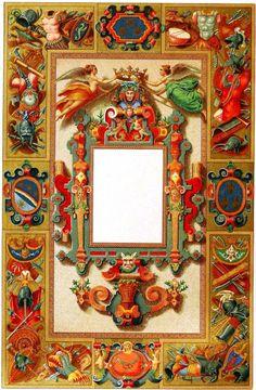 Design - Paper - Border, medieval 2