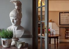 A roaming Roman centurion's arrived at @thedialhouse. Norfolk photographer @christaylorfoto was first on the scene. #statue #roman #interiors #objects #design #interiordesign