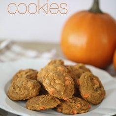 Pumpkin pudding cookies on iheartnaptime.com #pumpkin #recipes
