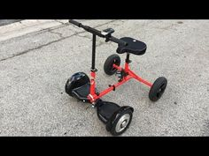 HoverBike - New Transportation Solution Using HoverBoard - Patent Pending. - YouTube