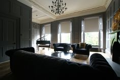Love it! This is one of design duo Colin & Justin's living rooms in their townhouse in Glasgow.