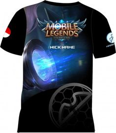 Kaos Mobile Legend – LAYLA | Distro Custom Apparel