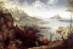 Landscape with the Flight into Egypt - Pieter Bruegel the Elder