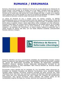 Damos a conocer una selección de libros, películas y música relacionados con Rumanía en este mes en el que también la Filmoteca de Navarra divulga en uno de sus ciclos el cine rumano.
