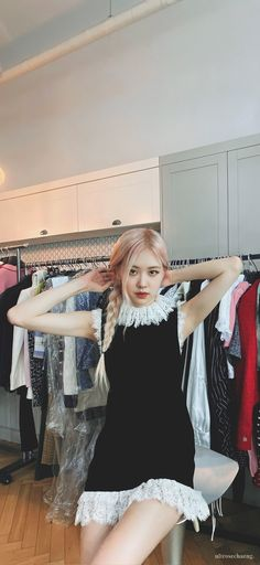 South Korean Girls, Korean Girl Groups, Foto Rose, Most Popular Kpop, Blackpink Funny, Lisa, Rose Park, Black Pink Kpop, Kpop Merch