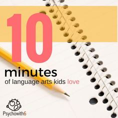 10 Minutes of Language Arts Kids Love: A curriculum for under $15 that can replace boring workbooks!
