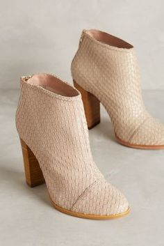 Guilhermina Woven Leather Booties #anthrofave