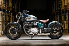 RATE THE BOBBERReader Rating 7 Votes8.8 In January, Bonnefication featured the Muzzleflasher, a custom Triumph Twin built by Germany based Bike Brothers, a build combining the power plant from the now classic and sort after 865cc air cooled Bonneville, and a range of custom and bespoke parts sourced from independent manufacturers, the end result was …
