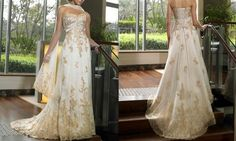 "gold wedding dresses | ... seriously thinking about looking at a ""non-white"" Wedding Dress"