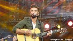"""Kendji Girac """"Bella"""" - Tournage """"La chanson de l'année - TF1 aux Arènes de Nîmes le Samedi 20 juin 2015 #Kendji"""