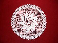 Ravelry: Pinwheel Doily pattern by American Thread Company
