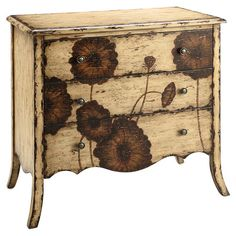 Found it at Wayfair - Poppy 3 Drawer Chest in Cream