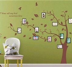 Mooie fotoboom als muursticker normaal € 89,50 NU € 19,95