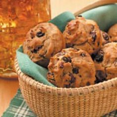 Raisin Rye Muffins Recipe Breads with rye flour, baking powder, ground ...